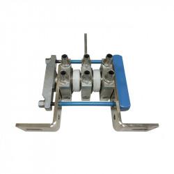Two-thyristor modular block for welding machines