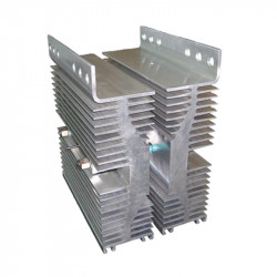 Modular blocks for AC rectifiers and connectors