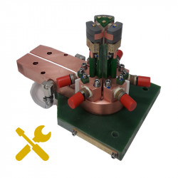 Service and regeneration of induction heating inductors