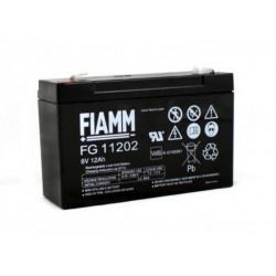 FG11202 Akumulator 6V 12Ah faston 6,35mm