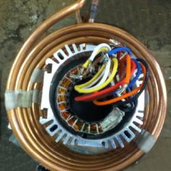 Aliuminio variklio korpuso sutraukimas