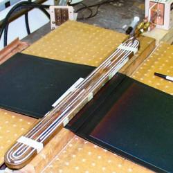 Bonding Solar Panel Shingles