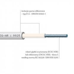 SILICABLE CSC, ECSC ir ECSC-VDE - dvigubos izoliacijos laidų serija -60°C iki +180°C