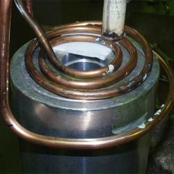 Epoksidinių klijų kietinimas ant aliuminio kopijavimo aparato ritinėlio