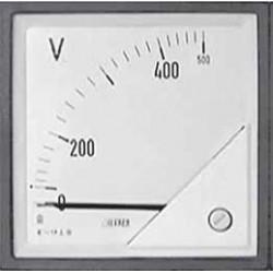 F72EVX500 Woltomierz tablicowy 72x72 zakres 0-500V