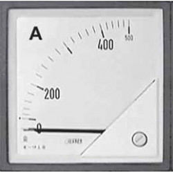 F96EAX400X05 Amperomierz tablicowy 96x96 0-400A