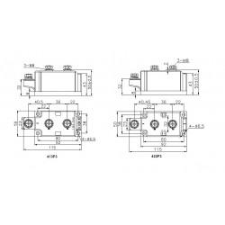 MDC300-25-413F3 Diode Module