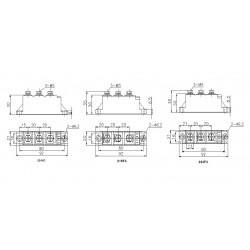 MDC40-16-223F3 Diode Module