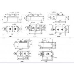 MDC500-12-416F3 Diode Module