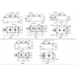 MDC500-20-416F3 Diode Module