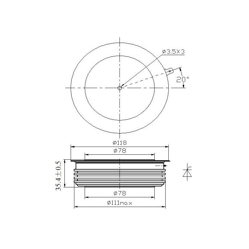 H89KPR-22-60 Tyrystor PCT