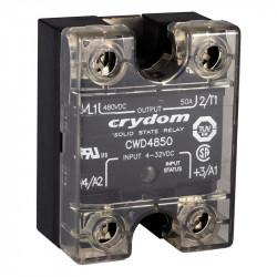 Przekaźniki półprzewodnikowe AC jednofazowe serii CWA I CWD