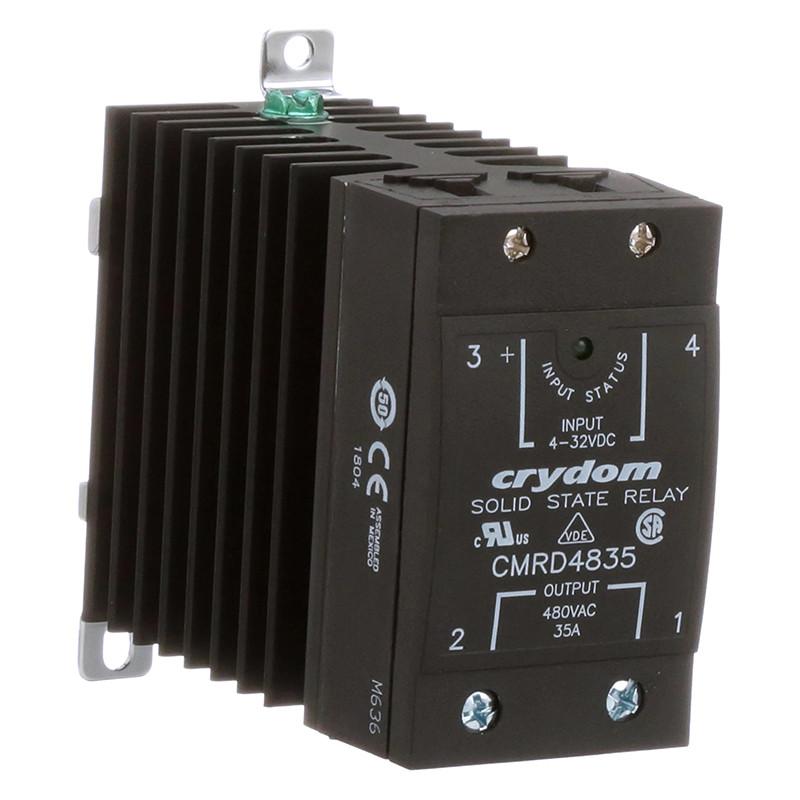 AC vienfazės puslaidininkinės relės CMRA ir CMRD serijų