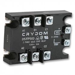 Przekaźniki półprzewodnikowe AC trójfazowe firmy CRYDOM