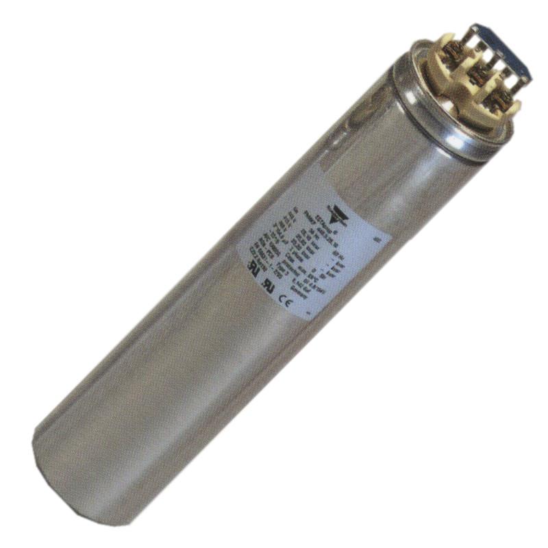 Kondensatory cylindryczne do kompensacji mocy