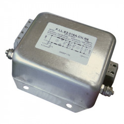 One phase filters F.LL.E2.series *** A.AN 250VAC 8-63A
