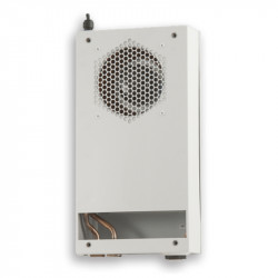 Heat exchangers for telecommunication cabinets