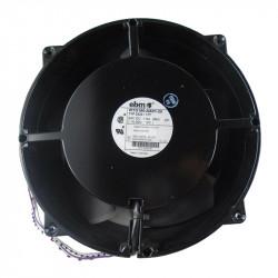 Compact and diagonal EBM ventilators