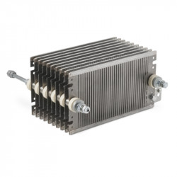 High power resistors for braking with steel resistant elements - FE 31 series