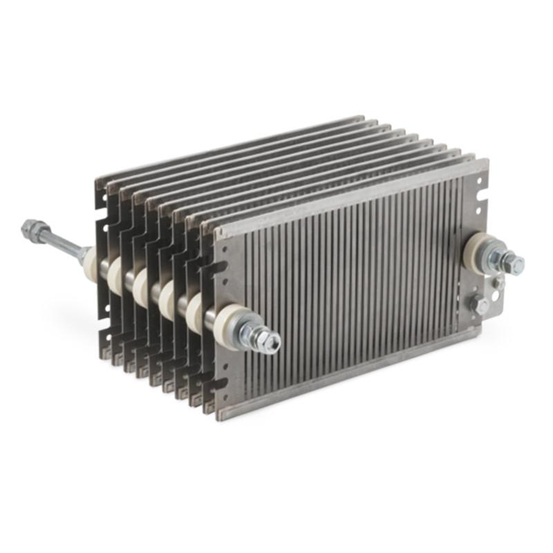 High power resistors for braking with steel resistant elements - FE 31 series
