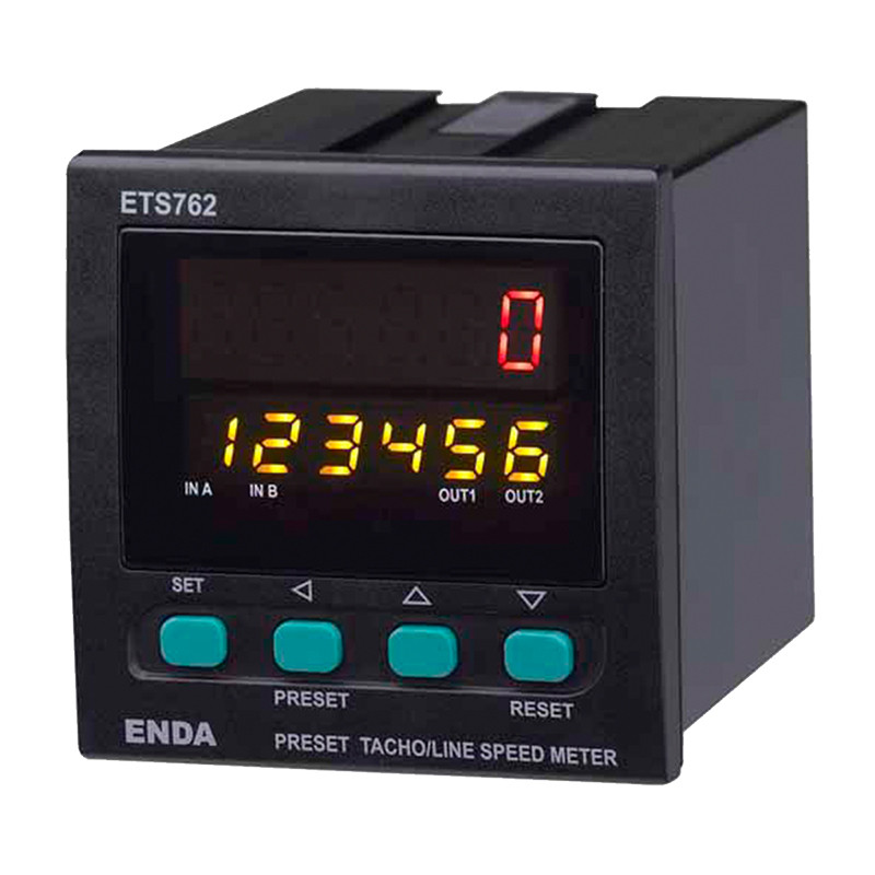 Rotational speed electronic meter ETS762