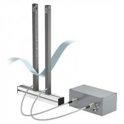 Light barrier transmitter - receiver (infrared radiation) - type DHS - 80