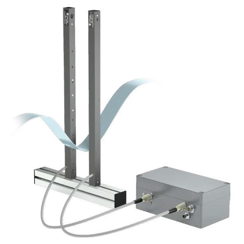 Bariera świetlna nadajnik - odbiornik (promieniowanie