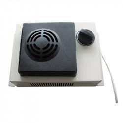 PTC šildytuvai su ventiliatoriumi