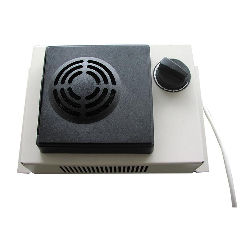 PTC heater with ventilator