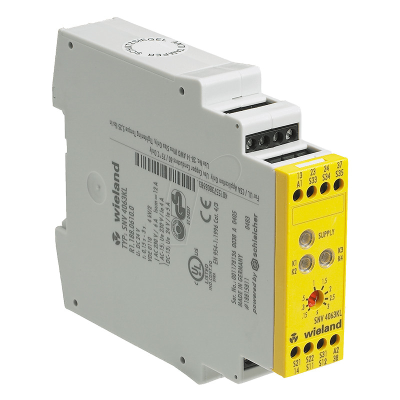 Safety relay - stop control SNV 4063KL