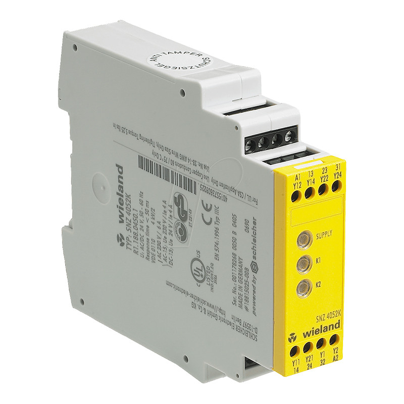 Przekaźnik bezpieczeństwa wyłącznik dwuręczny SNZ 4052K