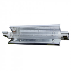 Accessories for infrared radiators