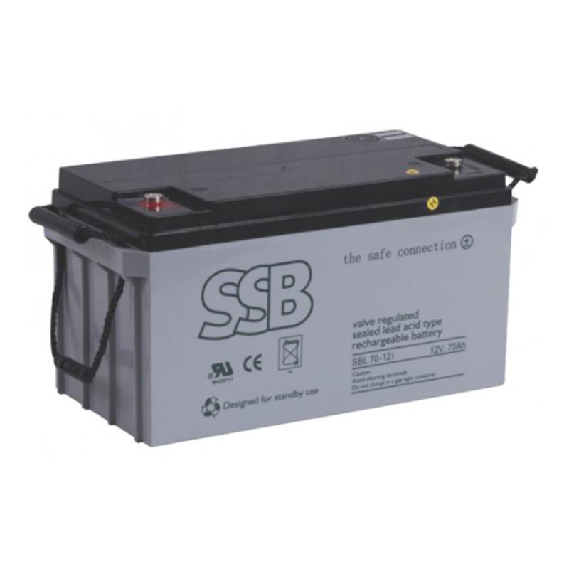 SBL serijos akumuliatoriai (buferinis darbas, ilgesnis tarnavimo laikas)