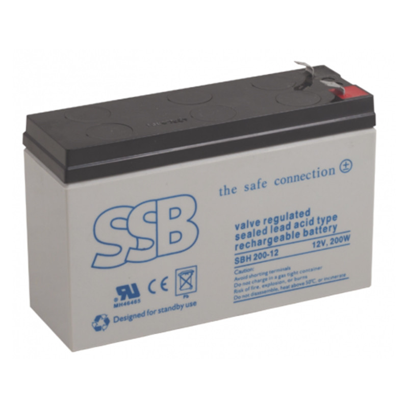 Accumulators - SBH series (buffer operation, high current)