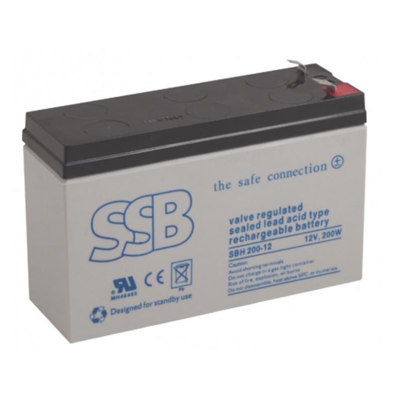SBH serijos akumuliatoriai (buferinis darbas, didelės srovės)