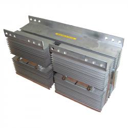 High voltage diode stacks