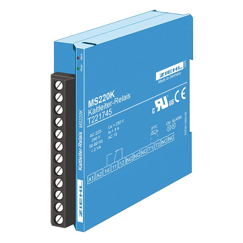 PTC šiluminė relė MS(R)220 K tipo