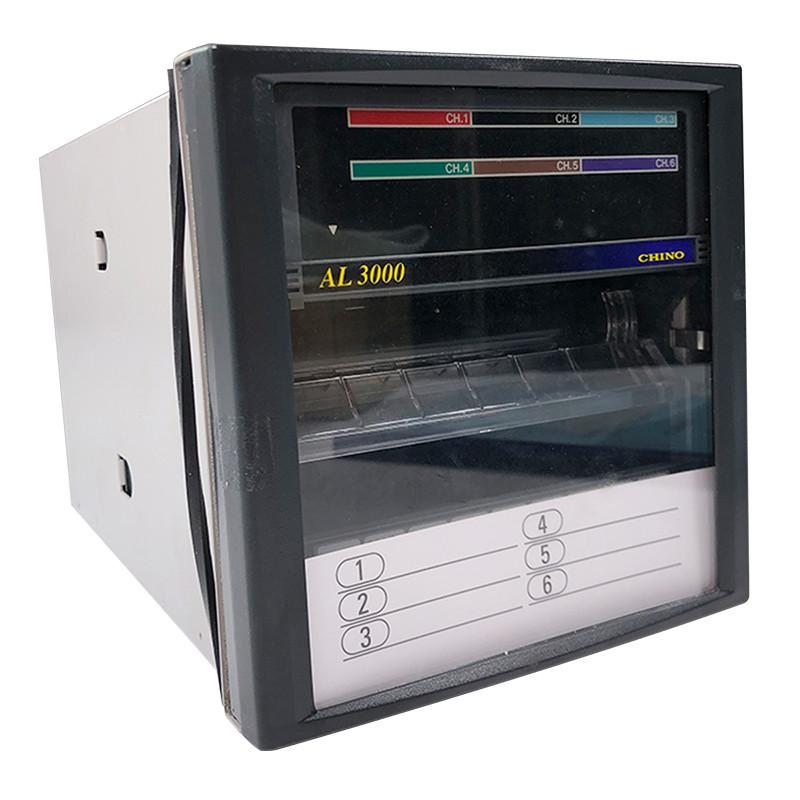 Įrašantis į juostą temperatūros reguliatorius su skaičių monitoriumi