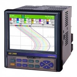 Microprocessor recorders with LCD screen - KR2000 screen