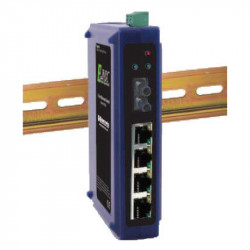 Unmanaged switches - fiber - 5 ports- DIN bus - EIR205 series