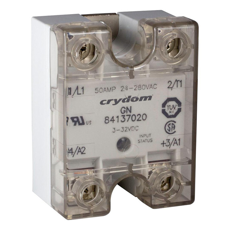 One phase semiconductor relays - gn series