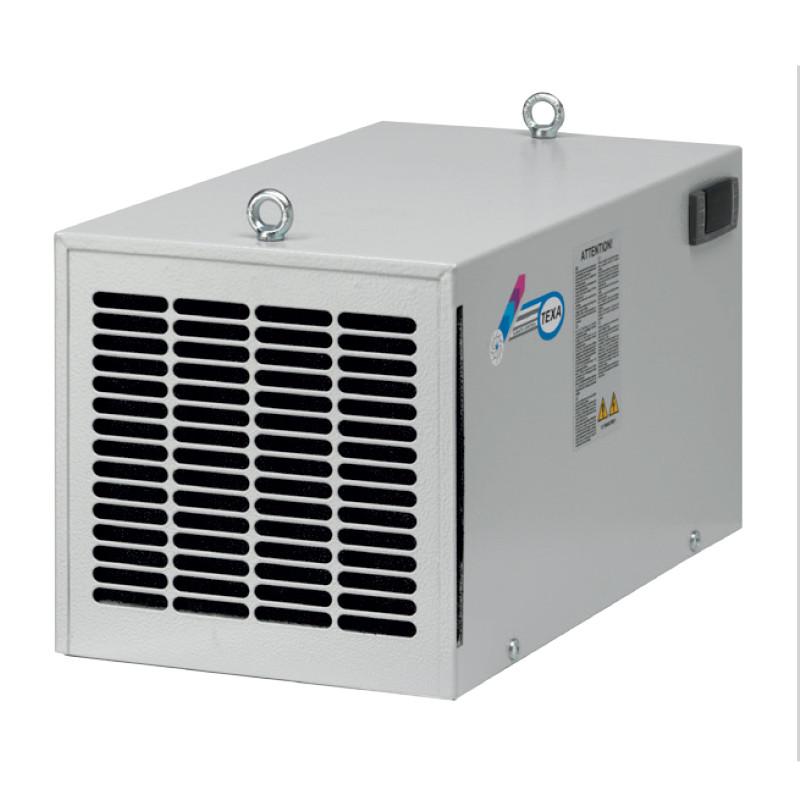Klimatyzatory serii DeK przeznaczone do montażu na dachu szafy