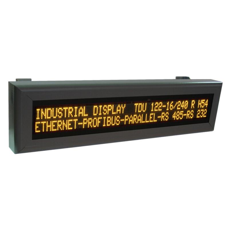 Large - size alphanumeric displays