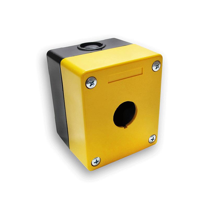 Kasety sterownicze z tworzywa sztucznego z otworami na przyciski