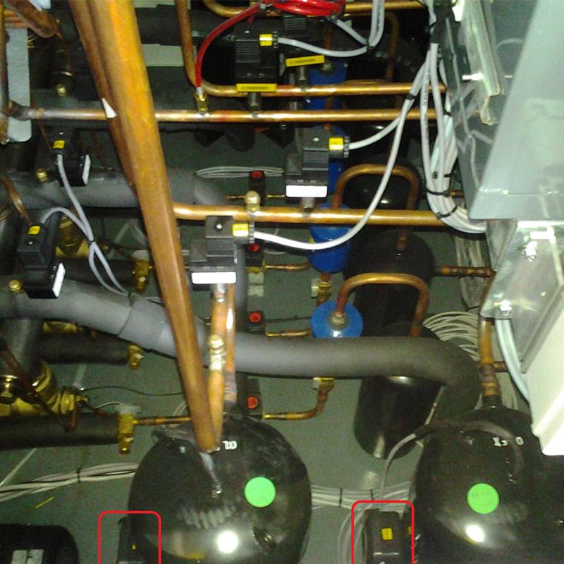 Pramoninių vandens aušintuvų ir oro kondicionierių aptarnavimas