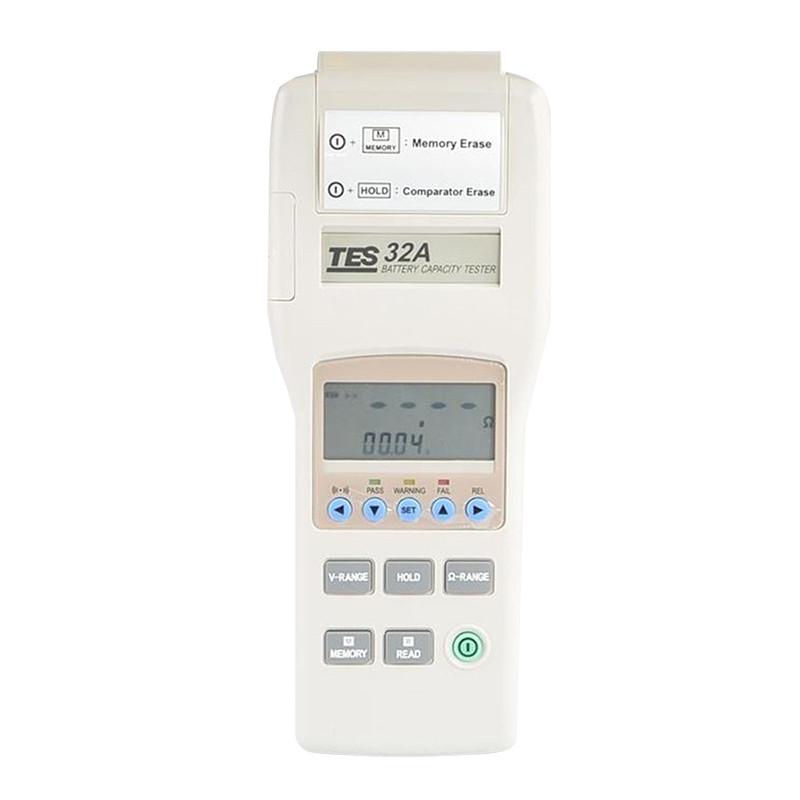 TES-32A - Tester pojemości akumulatorów
