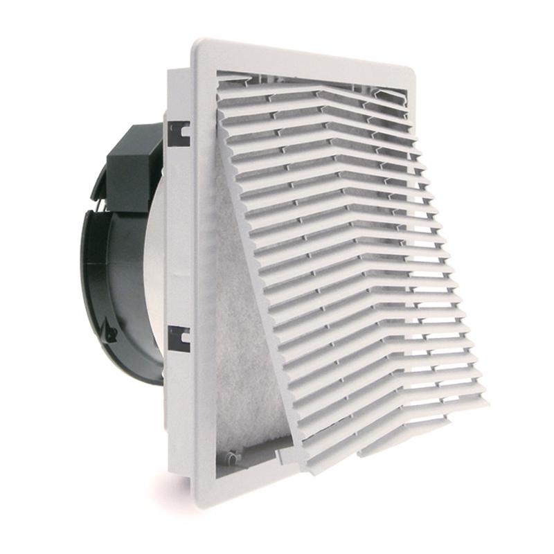 GF serijos gerbėjai su filtru su chroninio IP54 arba IP55 patalpų laipsniu