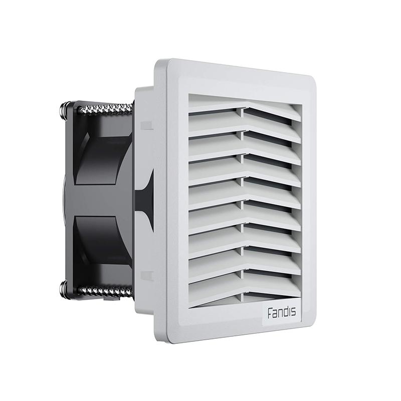 FF serijos gerbėjai su filtru su chroninio IP54 arba IP55 patalpų laipsniu