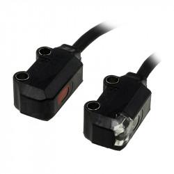 Czujniki fotoelektryczne w konfiguracji (nadajnik-odbiornik) serii E3T
