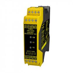 Przekaźnik bezpieczeństwa do sterowania dwuręcznego COM 3C